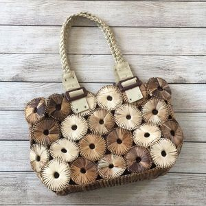 Handbags - Handwoven Straw Bag from the Philippines